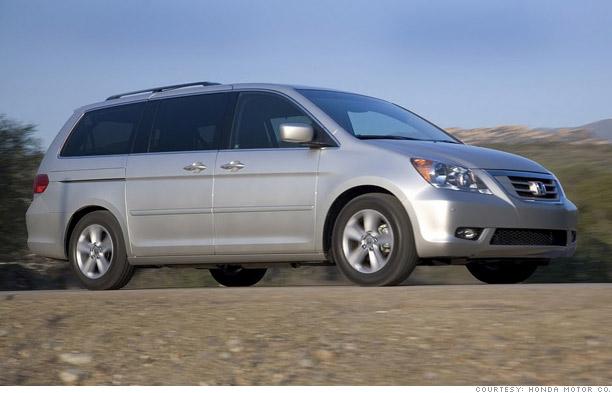 10 Most American Cars 6 Honda Odyssey 6 Cnnmoney Com