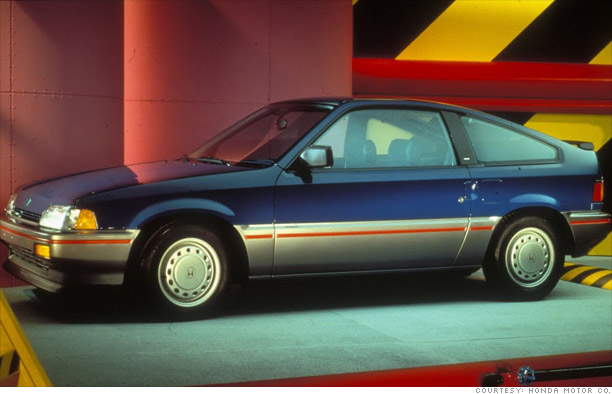 10 Most Fuel Efficient Cars Since 1984 1986 87 Honda