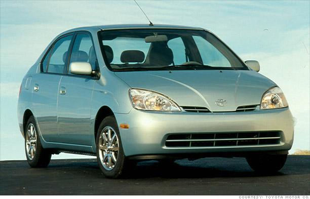 10 Most Fuel Efficient Cars Since 1984 2001 2003 Toyota Prius 9 Cnnmoney Com