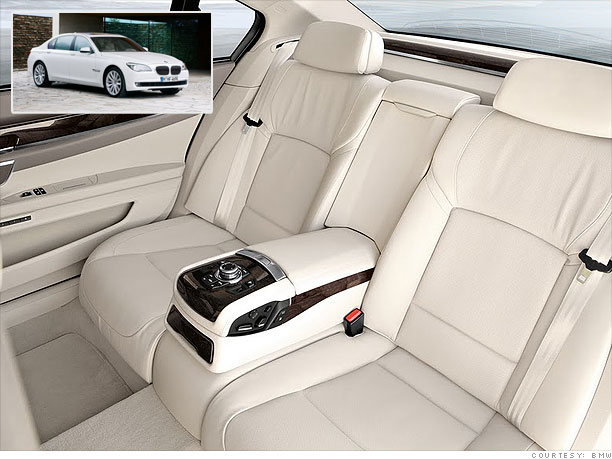 Cars Best Back Seats Bmw 7 Series 9 Cnnmoney Com