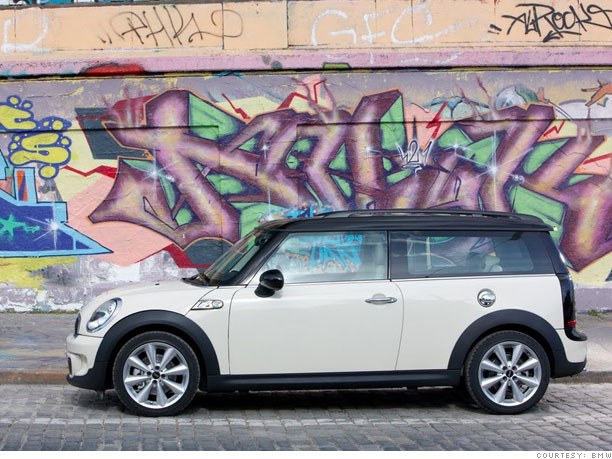 Best Cars For Dog Owners Mini Clubman 8 Cnnmoneycom
