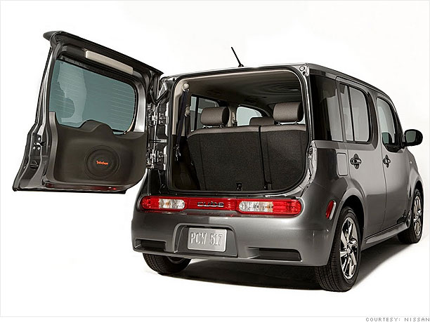 Best cars for dog owners - Nissan Cube (11) - CNNMoney.com