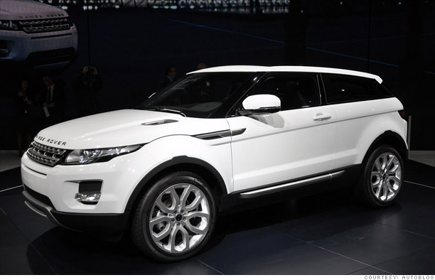 Coolest Cars From The Paris Motor Show Land Rover Evoque