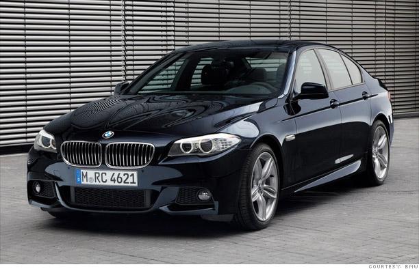 Best: BMW 5-series rear-wheel drive sedan