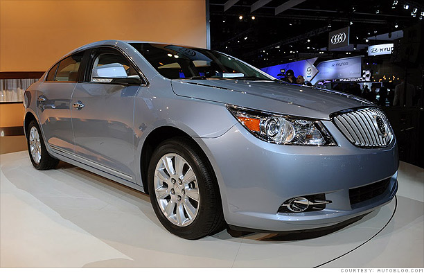 Buick LaCrosse with e-Assist