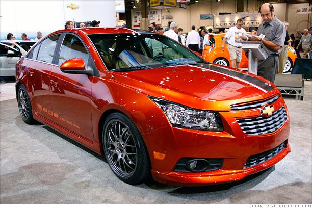 Chevy Volt Custom Wheels >> Souped-up Camaro, Charger and... Fiesta? - Chevrolet Cruze Z-spec (8) - CNNMoney.com
