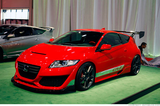 Souped-up Camaro, Charger and... Fiesta? - Honda CR-Z ...