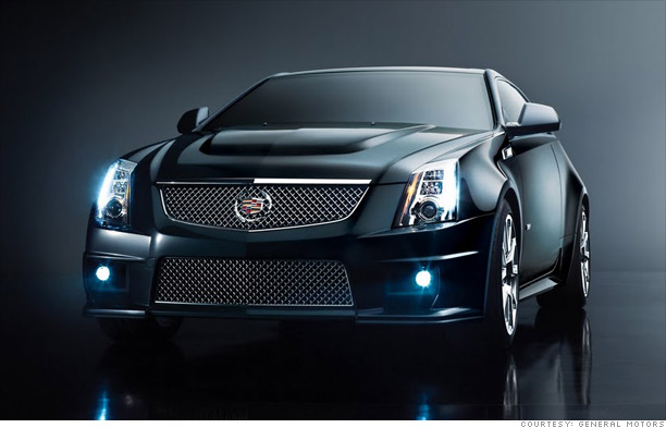 Today's new cars, tomorrow's collectibles - Cadillac CTS-V Coupe (1