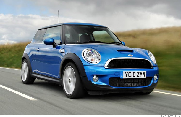 Cars: Best resale value in 18 flavors - Compact car: Mini Cooper (3) - CNNMoney.com