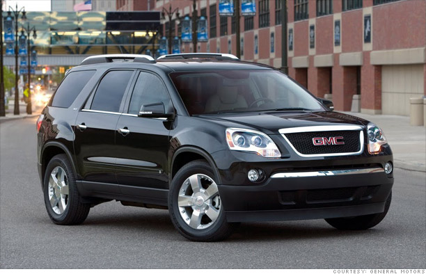 Cars Best Resale Value In 18 Flavors Large Suv Gmc Acadia 12