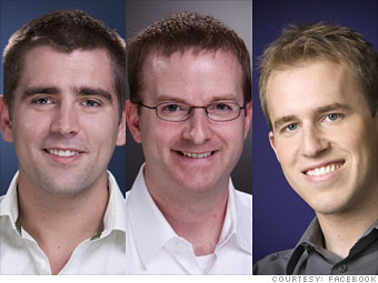 27. Chris Cox, Mike Schroepfer, and Bret Taylor