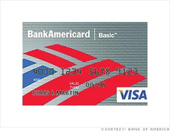 BankAmericard Basic Visa