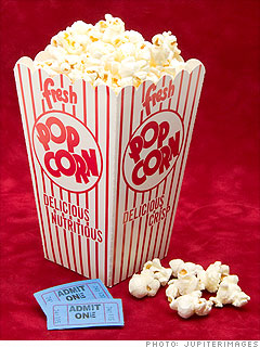 Movie theater popcorn - 900% markup