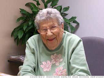 Chloe Grimm, 94
