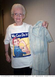 Helen Hansen, 92