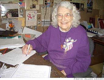 Mildred Heath, 102