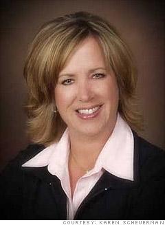 Karen Scheuerman, 49, small business owner