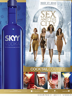 Skye vodka sex and the city
