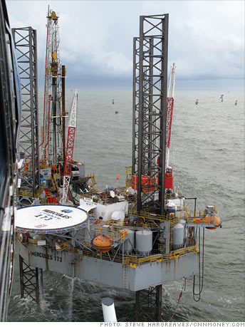 Drilling off shore