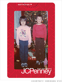 J.C. Penney's picture card