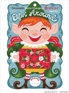 Target's Elfin Around Voice Card