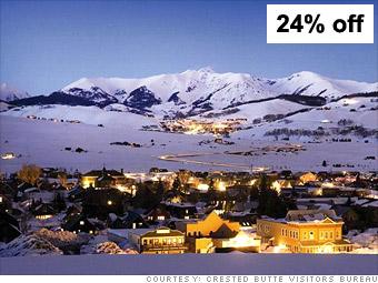 Ski: Crested Butte, Colo.