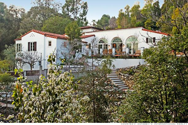 Hollywood hilltop villa