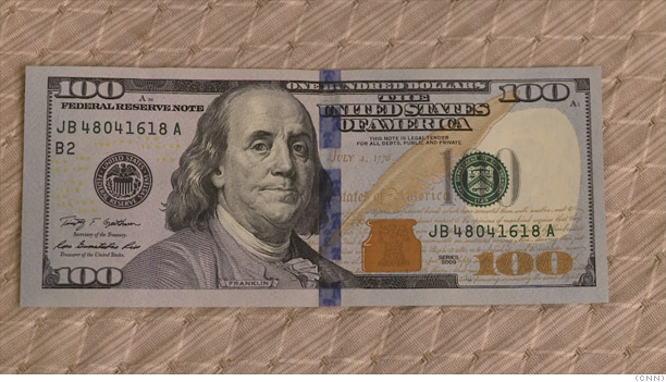 Inside the sexy new $100 bill - High tech currency paper (1