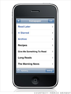Most useful: Instapaper Pro