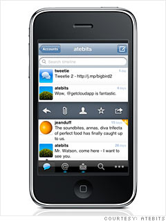 Most innovative: Tweetie 2