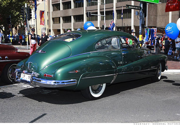 Classic cars, bargain prices - 1948 Buick Roadmaster Sedanette (7) - CNNMoney.com