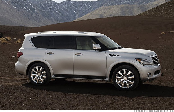 Big and flashy - Nissan QX56