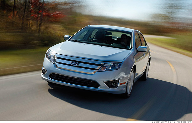 America S Best Cars Green Car Ford Fusion Hybrid 1