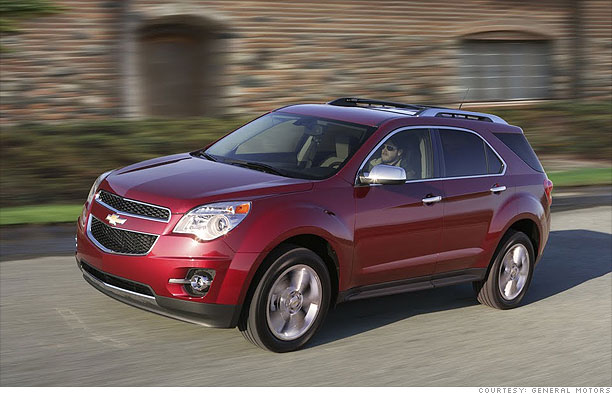Family Suv Chevrolet Equinox