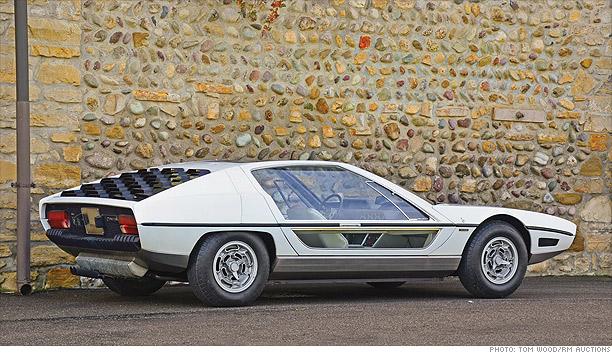 Million Dollar Cars Of The Future From The 70s 1967 Lamborghini