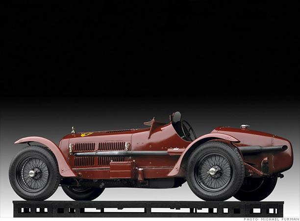 Ralph Lauren's car collection on exhibit - 1931 Alfa Romeo Monza 8C