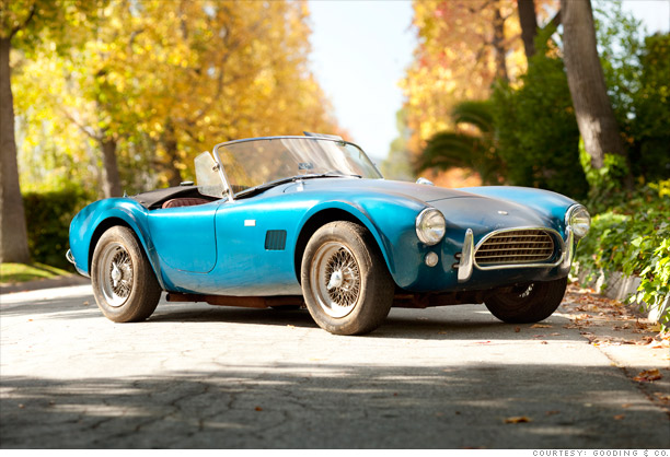 1964 Shelby Cobra: Up to $625,000
