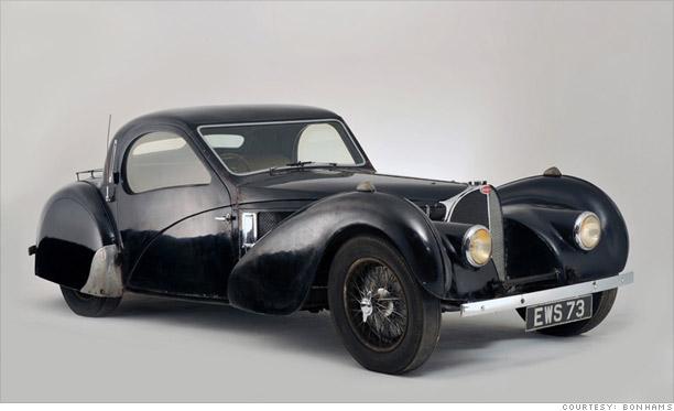 1937 Bugatti Type 57S: $4.4 million