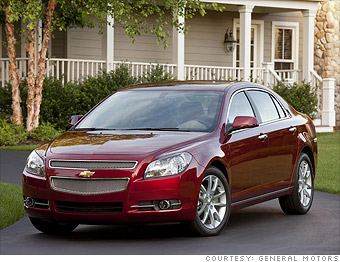 For Instance 2008 Chevrolet Malibu Lt