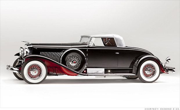 Which Is The Costliest Car In The World >> 10 costliest cars at Pebble Beach - 1931 Duesenberg Model J (2) - CNNMoney