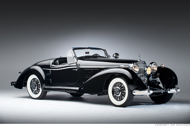 Costliest Car In The World >> 10 costliest cars at Pebble Beach - 1939 Mercedes-Benz 540K (6) - CNNMoney