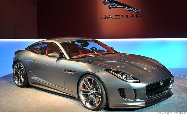 hot cars   frankfurt motor show jaguar   concept  cnnmoney