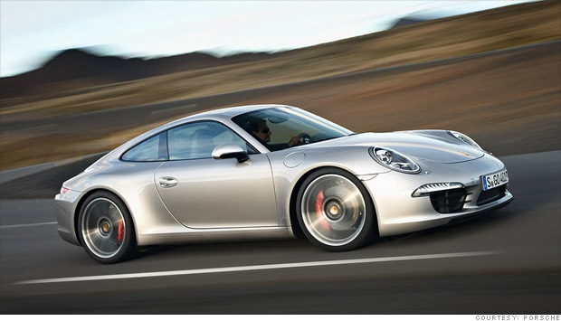 new porsche 911 saves gas goes fast classic form 1 cnnmoney. Black Bedroom Furniture Sets. Home Design Ideas