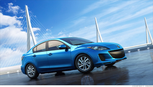 Consumer Reports: Most Reliable Cars - Small car: Mazda3 ...