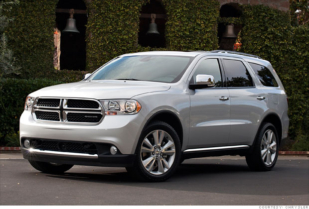 Three Row SUV: Dodge Durango