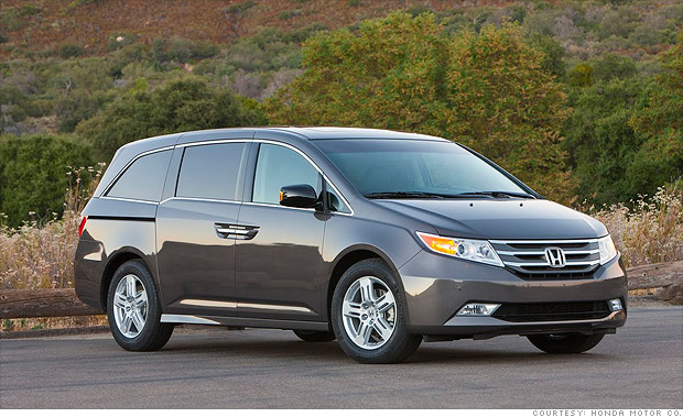 Best Resale Value Cars Minivan Honda Odyssey 16
