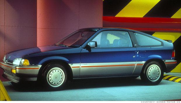 10 Most Fuel Efficient Cars Since 1984 6 Honda Civic
