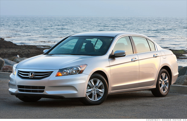 12 most profitable cars - 10. Honda Accord (10) - CNNMoney