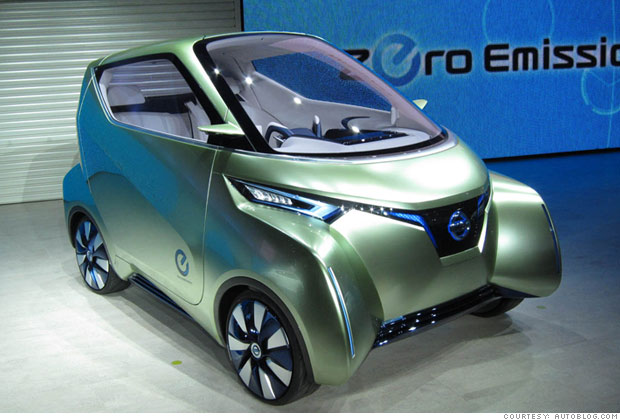 Cool Cars From The Tokyo Motor Show Nissan Pivo 3 9 Cnnmoney