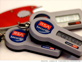RSA - the security company - gets hacked